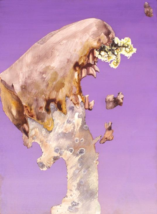Anthropomorph I. 2007. Oil and acrylic on canvas. Circa 61 x 45 cm. £925