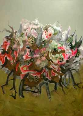 Brockaflora. 2007. Oil and acrylic on linen.122 x 91 cm. £2600