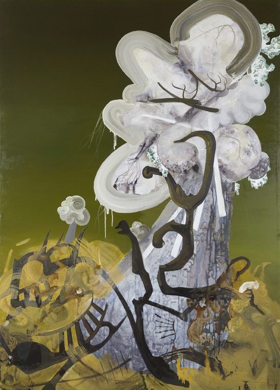 Morella. 2008. Oil and acrylic on canvas. 176 x 127cm. £2950
