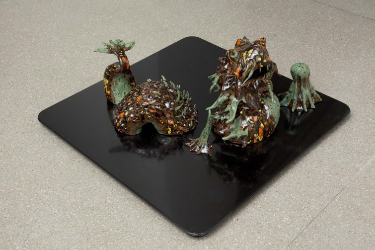 2011. Glazed ceramic in 5 pieces, dimensions variable. £1200