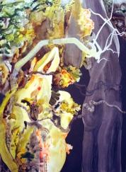 Oil and acrylic on canvas. Circa 150 x 115cm. £2600