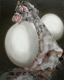 Fist. 2009. Oil and acrylic on canvas. 76 x 61cm. £1200