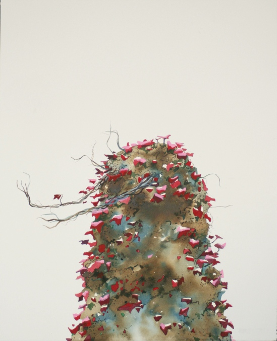 Leaf de Lek. 2010. Watercolour on paper. 48 x 37cm. £445
