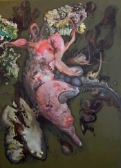 Mesamorph. 2008. Oil and acrylic on canvas. 176 x 127cm. £2950