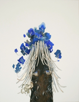 Miss Palm. 2010. Watercolour on paper. 48 x 37cm. £445