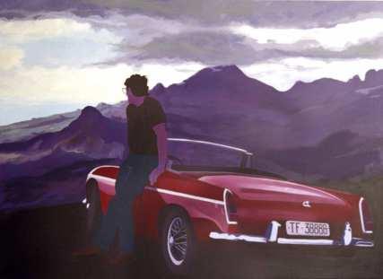 Viewpoint. 2002. Acrylic on canvas. 137 x 183cm. £2450